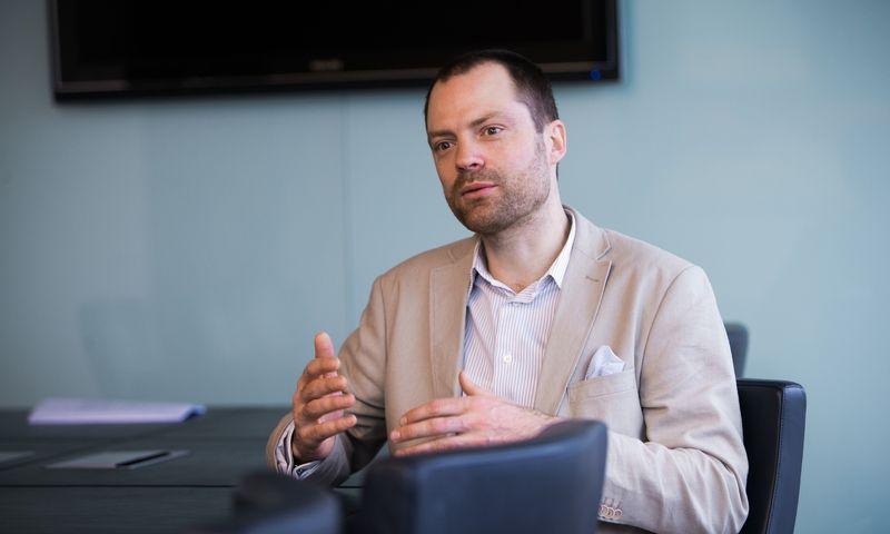"Rytis Davidovičius, ""Lewben Investment Management"" direktorius. Juditos Grigelytės (VŽ) nuotr."