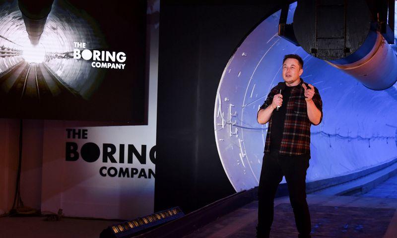 """Elonas Muskas. """"Reuters"""" / """"Scanpix"""" nuotr."""