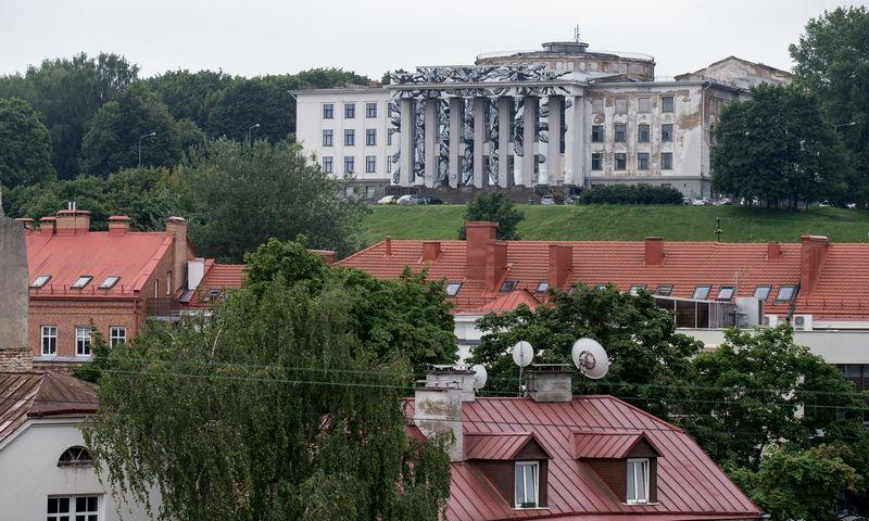 Profsąjungų rūmai ant Tauro kalno. Juditos Grigelytės (VŽ) nuotr.