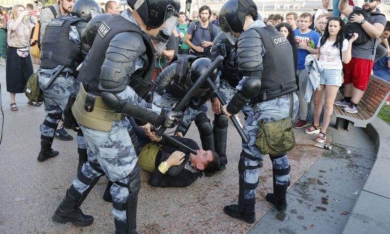 "Alexanderio Zemlianichenko (AP Photo / ""Scanpix"") nuotr."