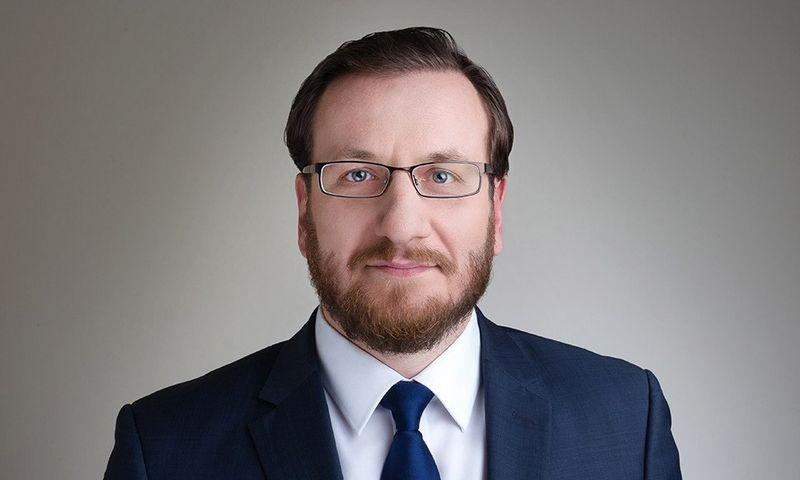 """Nedas Šilaika, naujasis advokatų kontoros """"Iustum"""" partneris. Bendrovės nuotr."""