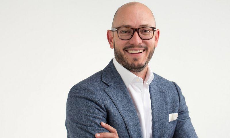 """Gerhardas Erasmusas, naujasis """"Apex Alliance Hotel Management"""" vadovas. Bendrovės nuotr."""