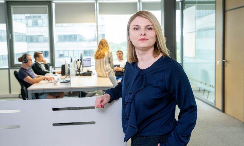 """Svetlana Ziubrovskienė, elektroninių mokėjimų įstaigos """"Mistertango"""" vadovė. Juditos Grigelytės (VŽ) nuotr."""
