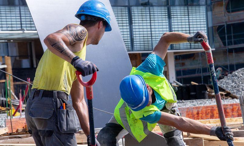 Rinkos lyderiai tikisi, kad prekyba statybinėmis medžiagomis artimiausiais metais dar didės. Juditos Grigelytės (VŽ) nuotr.