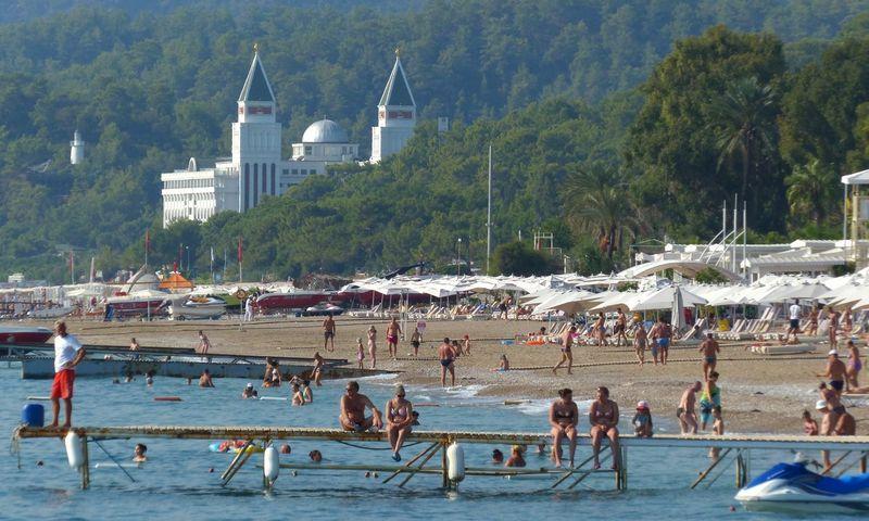 Antalijos paplūdimys. Turkija. Vladimir Vyatkin (Sputnik/Scanpix) nuotr.