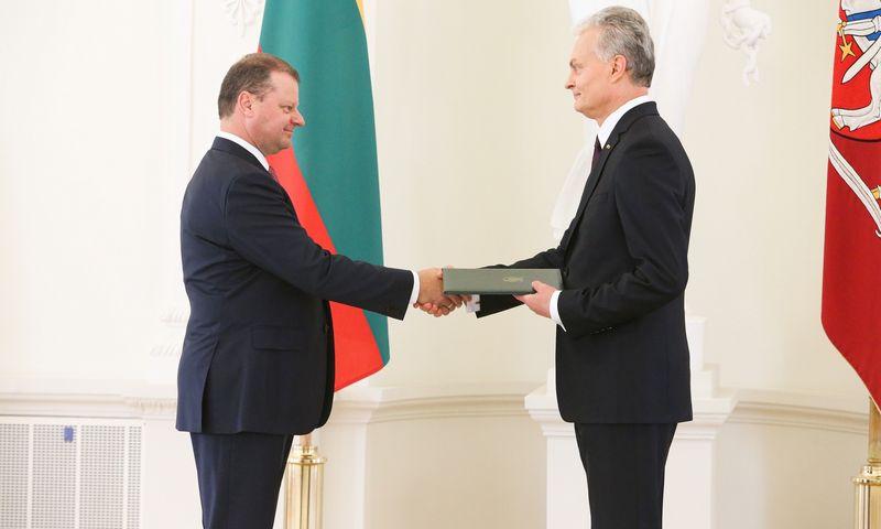 Vyriausybės įgaliojimų grąžinimas liepos 12 d. Vladimiro Ivanovo (VŽ) nuotr.