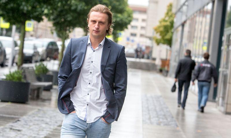 """Finansinių paslaugų startuolio """"Revolut"""" įkūrėjas Nikolajus Storonskis. Juditos Grigelytės (VŽ) nuotr."""