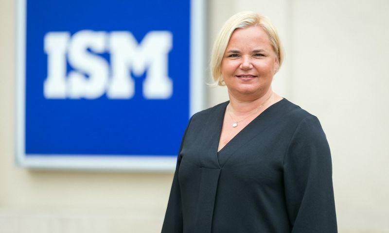 ISM Tarptautinės rinkodaros ir vadybos programos direktorės doc. dr. Lineta Ramonienė. Universiteto nuotr.