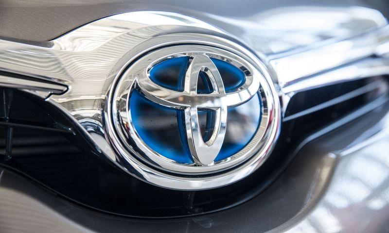 """""""Toyota"""" nuo balandžio išlaiko Lietuvos rinkos lyderio poziciją. Juditos Grigelytės (VŽ) nuotr."""