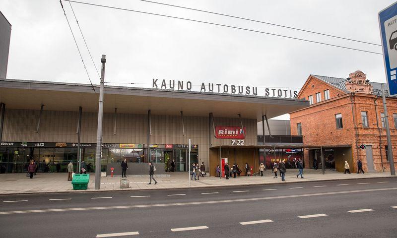 Kauno autobusų stotis. Vladimiro Ivanovo (VŽ) nuotr.
