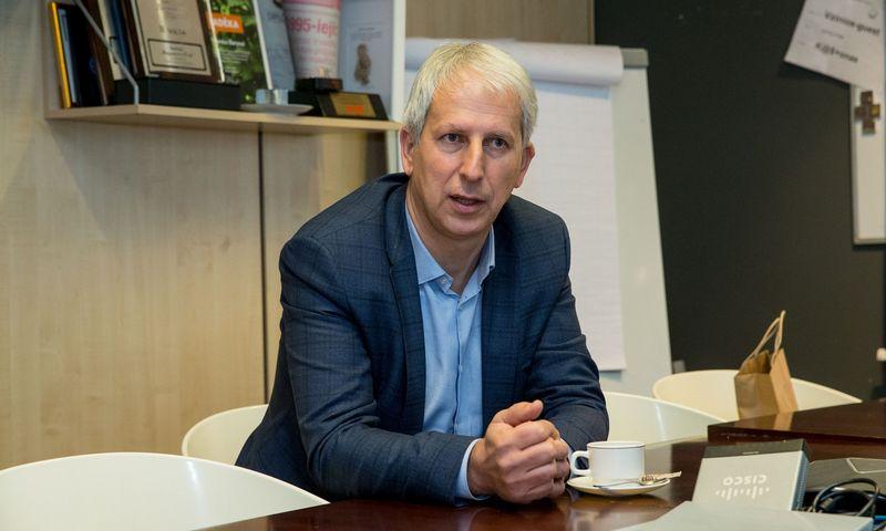 Egidijus Valentinavičius, koncerno SBA viceprezidentas. Juditos Grigelytės (VŽ) nuotr.