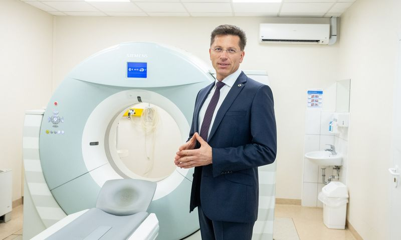 """Laimutis Paškevičius, UAB """"SK Impeks Medicinos diagnostikos ir gydymo centras"""" direktorius. Juditos Grigelytės (VŽ) nuotr."""