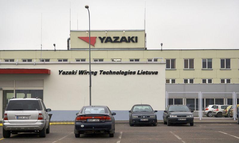 """""""Yazaki Wiring Technologies Lietuva"""" pastatas Klaipėdoje. Algimanto Kalvaičio nuotr."""