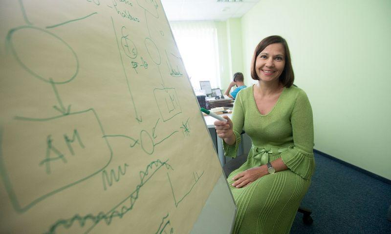 """Renata Špukienė, UAB """"Tilde informacinės technologijos"""" direktorė. Juditos Grigelytės (VŽ) nuotr."""