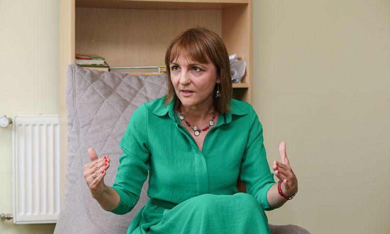 Dalia Vinklerė, Centrinės projektų valdymo agentūros Tarptautinių programų valdymo departamento Teisės ir kokybės kontrolės tarnybos vadovė. Vladimiro Ivanovo (VŽ) nuotr.