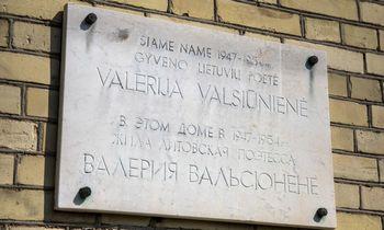 Vilniuje nukabintalenta sovietų saugumui dirbusiai poetei V. Valsiūnienei