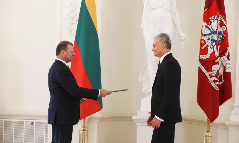 Vyriausybė įgaliojimus grąžino prezidento inauguracijos dieną – liepos 12-ąją. Vladimiro Ivanovo (VŽ) nuotr.