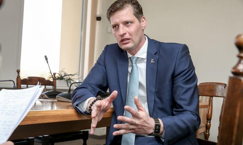 Kęstutis Mažeika, aplinkos ministras. Vladimiro Ivanovo (VŽ) nuotr.