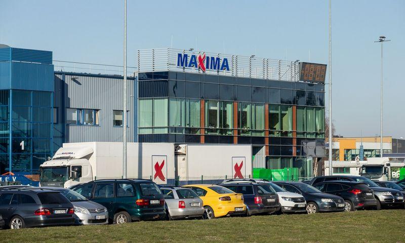 """""""Maximos"""" logistikos centras Latvijoje. Juditos Grigelytės (VŽ) nuotr."""