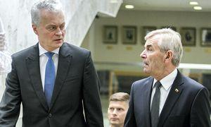 G. Nausėda: dėl V. Pranckiečio turi apsispręsti patys Seimo nariai