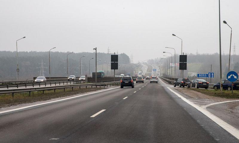 Kleboniškio tiltas Kaune. Juditos Grigelytės (VŽ) nuotr.