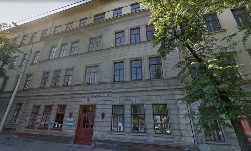 """Kęstučio g. 27, Kaunas. """"Google Maps"""" 2012 m. atvaizdas."""