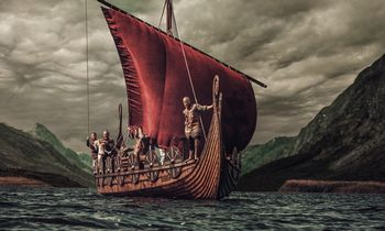 Iliustruotoji istorija: vieni metai vikingų ūkyje