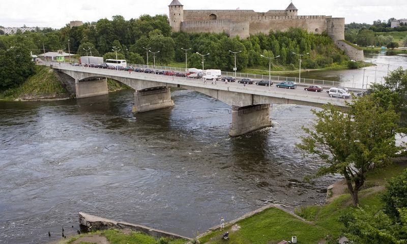 "Estijos – Rusijos siena ties Narva.  Nick Hannes (""Skanpix"") nuotr."