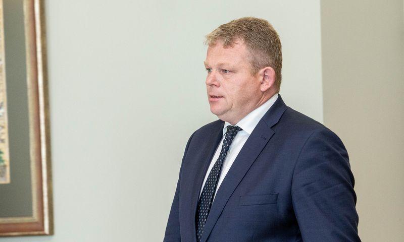 Kandidatas į Žemės ūkio ministrus Andrius Palionis. Juditos Grigelytės (VŽ) nuotr.