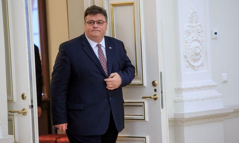 Užsienio reikalų ministras Linas Linkevičius. Vladimiro Ivanovo (VŽ) nuotr.