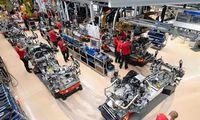 Verslo nuotaikos didžiausioje Europos ekonomikoje toliau niaukiasi