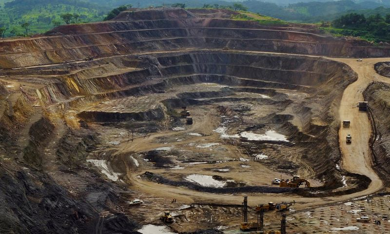 """Rugpjūčio pradžioje  Šveicarijos kalnakasybos bendrovė """"Glencore"""" pranešė uždaranti savo kobalto kasyklą Kongo Demokratinėje Respublikoje. Jonny Hogg (""""Reuters"""" / """"Scanpix"""") nuotr."""