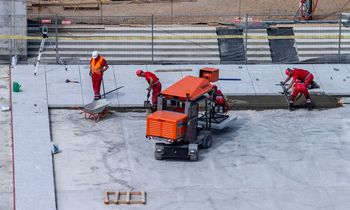 Mažiausias algas mokančios statybos įmonės