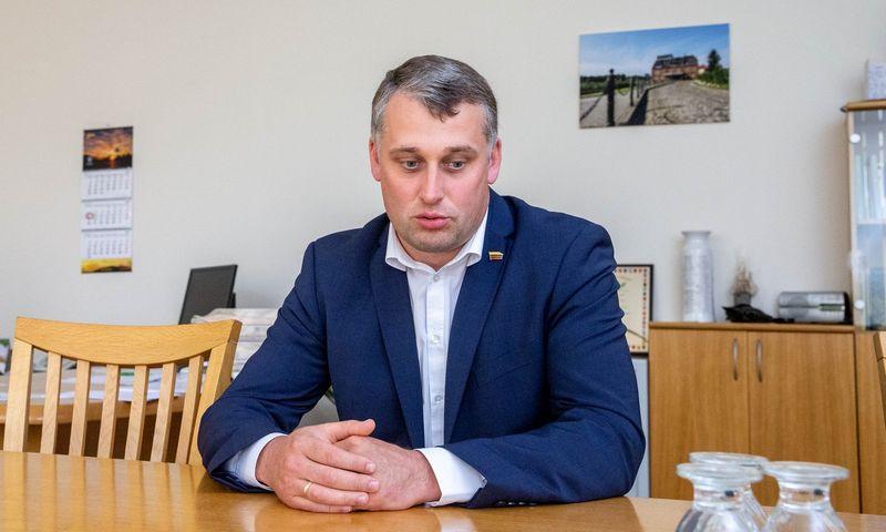 Valius Ąžuolas, Seimo Biudžeto ir finansų komiteto pirmininkas. Juditos Grigelytės (VŽ) nuotr.