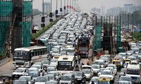 Indijos automobilių rinkoje – blogiausias mėnuo per 18 metų
