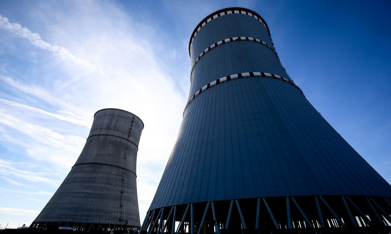 Statoma Baltarusijos atominė elektrinė. Vladimiro Ivanovo (VŽ) nuotr.