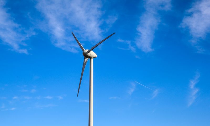 Vėjo jėgainės. Vladimiro Ivanovo (VŽ) nuotr.