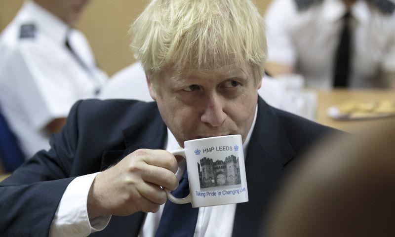 "Borisas Johnsonas, JK premjeras. (""Reuters""/""Scanpix"") nuotr."