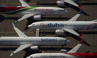 """""""Boeing 737 MAX"""" krizė: prarasti milijardai, nutraukti skrydžiai, skelbiami streikai"""