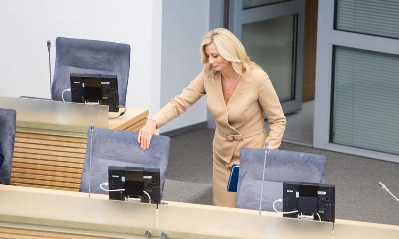 Rita Tamašunienė bus vienintelė moteris atnaujintoje Vyriausybėje. Juliaus Kalinsko (15min.lt/Scanpix) nuotr.