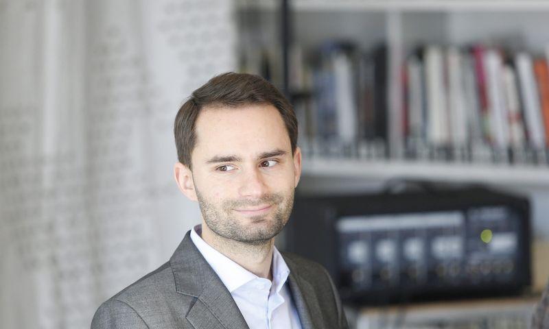 """Rytis Laurinavičius, UAB """"Soundest"""" vadovas ir įkūrėjas. Vladimiro Ivanovo (VŽ) nuotr."""