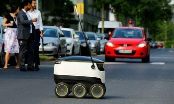 Siuntų pristatymo robotu bendrovė pritraukė 40 mln. USD