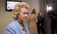NSGK vadovas: I. Rozova leidimo negavo dėl nuslėptų kontaktų,inicijuojamas tyrimas