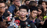 Honkongo opozicijos aktyvistas: semiamės įkvėpimo iš Baltijos kelio