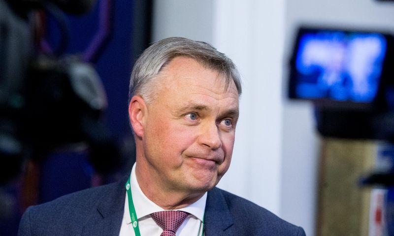 Lietuvos pramonininkų konfederacijos prezidentas Robertas Dargis. Juditos Grigelytės (VŽ) nuotr.