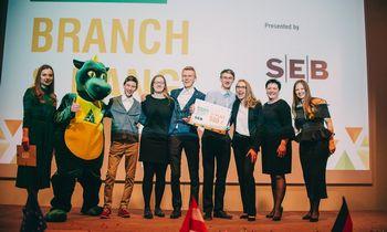 SEB bankas ir toliau investuos į Lietuvos jaunimo verslumo ugdymą
