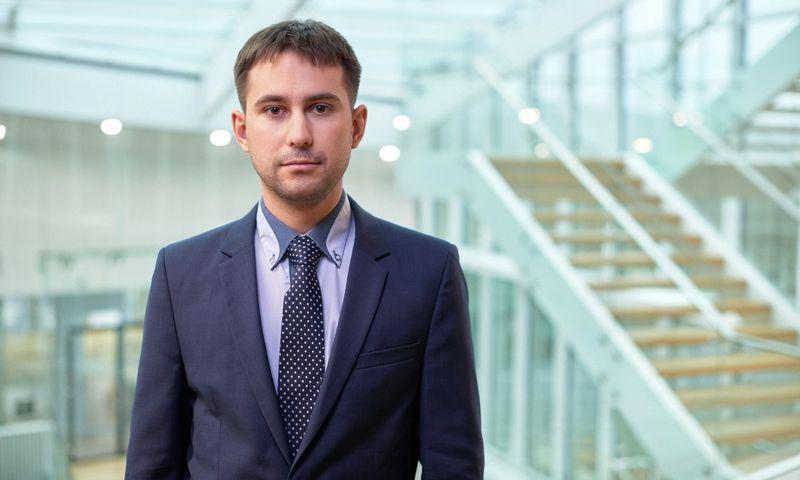 """Edgaras Mechoncevas, UAB """"KPMG Baltics"""" vyresnysis konsultantas perspėja, kad 2019 m. sausio 1 d, kai įsigaliojęs TFAS 16 """"Nuoma"""" standartas įnešė reikšmingų pokyčių į įmonių balansus ir pelno (nuostolių) ataskaitas. Bendrovės nuotr."""