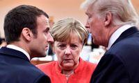 Laukiama įtempto G7 lyderių susitikimo