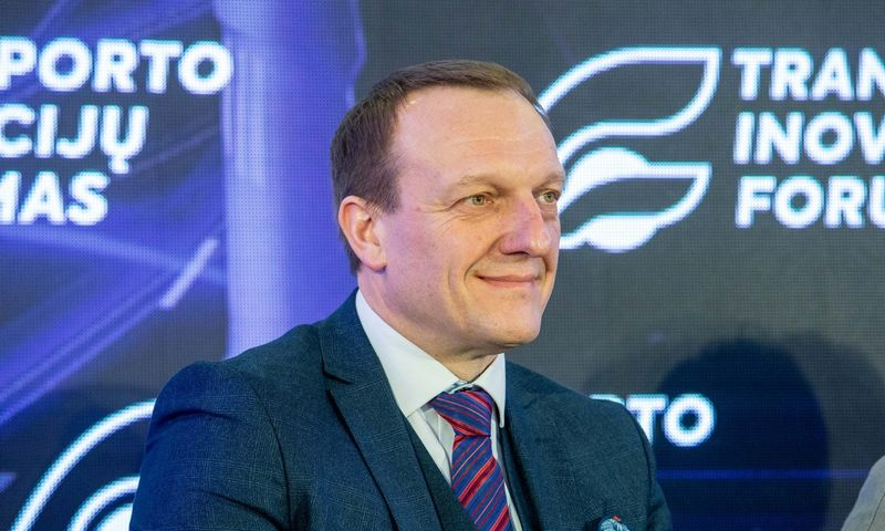 Kelių transporto ir civilinės aviacijos politikos departamento direktorius Vladislavas Kondratovičius. Juditos Grigelytės (VŽ) nuotr.