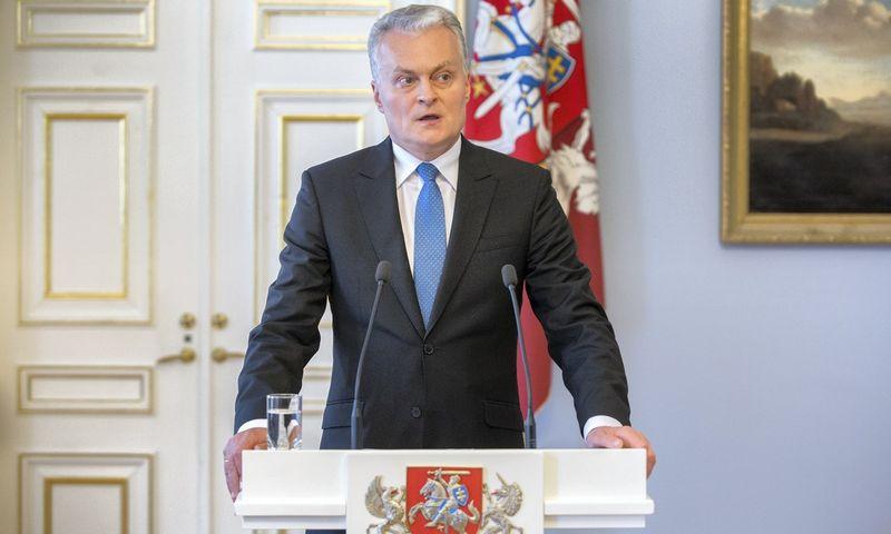 G  Nausėdos pirmasis pralaimėjimas Seime – atmestas veto dėl